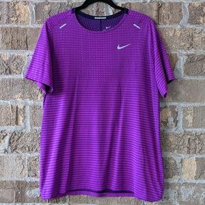 Nike TechKnit Future Fast Short Sleeve Running T